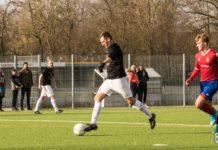 Nicht zu halten: FCL-Routinier Martin Peters steuerte gleich vier Treffer zum FCL-Erfolg bei. FCL-Bild: Reiner Poets