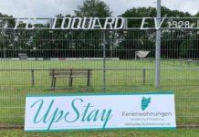 UpStay Ferienwohnungen ist ab sofort neuer Partner von unserem FC Loquard. FCL-Bild: Florian Harberts