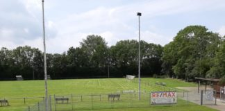 Die Sportanlage unseres FC Loquard glänzt nach dem gestrigen Arbeitseinsatz wieder auf Hochglanz. FCL-Bild: Joachim Harberts