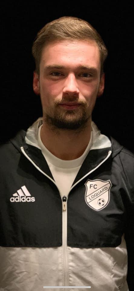 Joost Swyter wechselt vom TuS Pewsum zu unserem FCL und kehrt damit zu dem Verein zurück, bei dem er das Fußballspielen einst erlernte. FCL-Bild: Jann-Marten Swyter