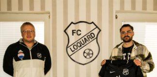 Unser FCL-Trainer André Popp (links) freut sich auf die erneute Zusammenarbeit mit Huber (rechts). FCL-Bild: Reiner Poets