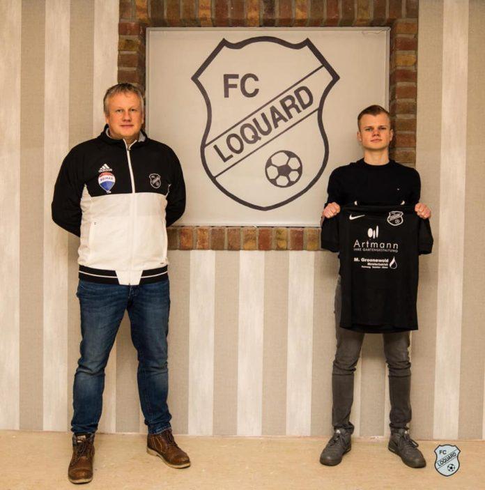 Alberts (rechts) kehrt im kommenden Sommer nach Loquard, also an den Ort zurück, wo er das Fußballspielen erlernte. FCL-Bild: Reiner Poets
