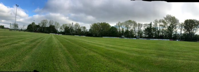 Auch unsere Plätze sind bereit für die Rückkehr des Fußballs und erstrahlen in saftigem Grün. FCL-Bild: Florian Harberts