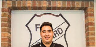 Mit Gianmarco Serio schließt sich unserem FCL künftig ein Mann an, der einen außergewöhnlichen Weg bestritten hat, um schlussendlich im Stadion an der Landstraße zu landen. FCL-Bild: Reiner Poets