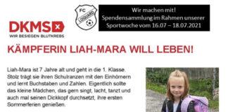 Wir hoffen während unserer Sportwoche auf entsprechende Spendenbereitschaft unserer Besucher und wünschen Kämpfern wie Liah-Mara eine baldige Genesung!